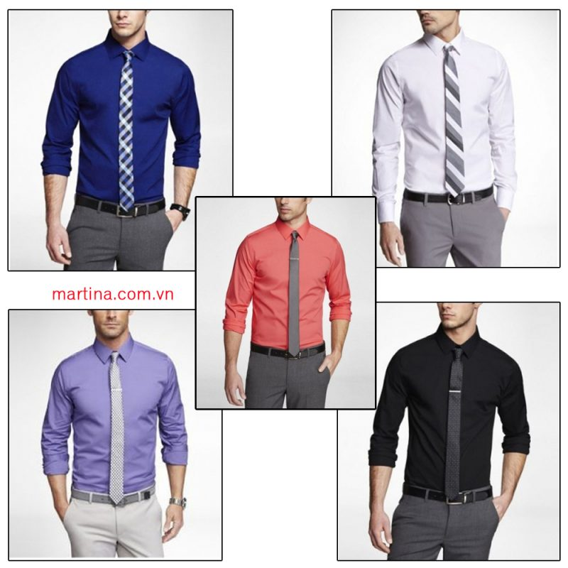 Mẫu áo sơ mi nam đồng phục công sở đẹp giá rẻ
