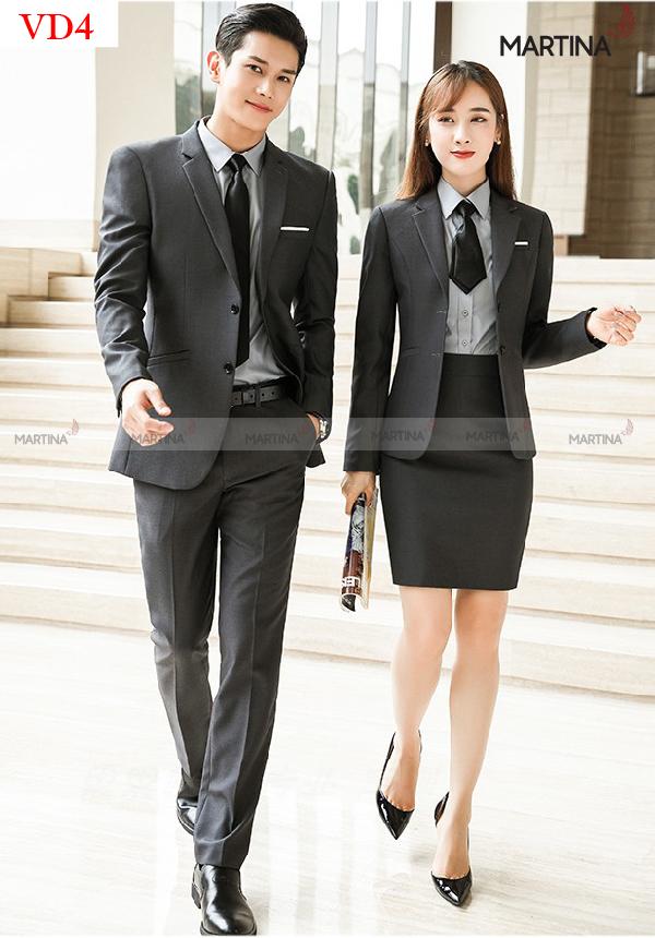 Mẫu áo vest đồng phục chuyên nghiệp