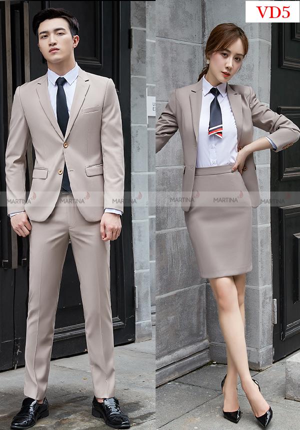 Mẫu đồng phục vest công ty chất lượng cao