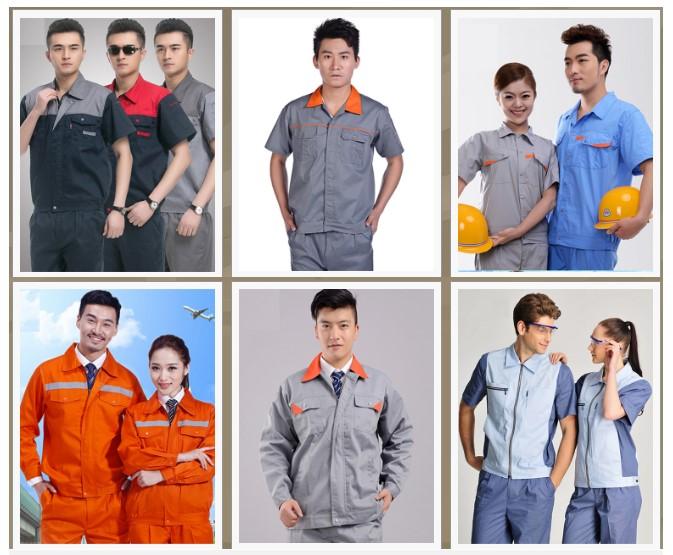 Mẫu quần áo bảo hộ lao động cho kỹ sư