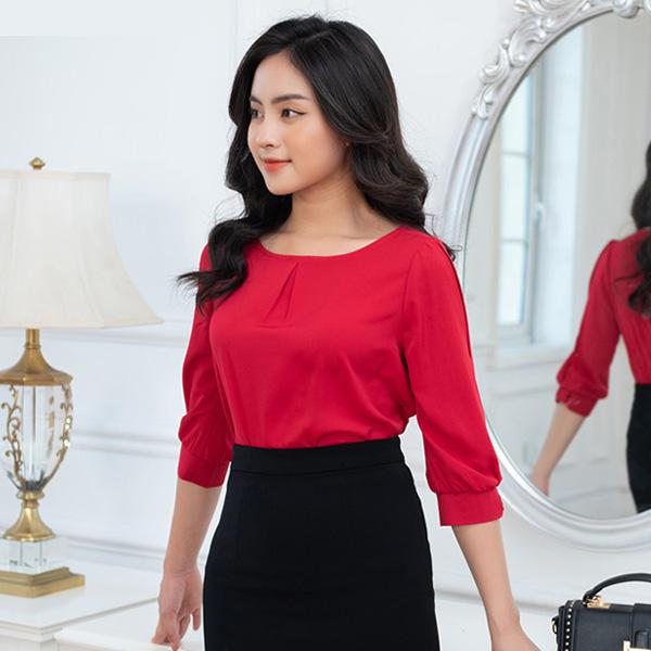 Mẫu đồng phục công sở nữ chất lượng cao