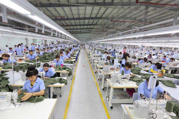 Xưởng may quy mô khép kín chất lượng cao