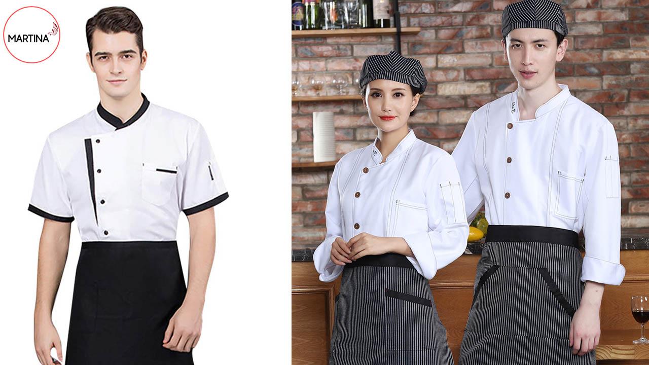 Mẫu đồng phục bếp cho nhà hàng