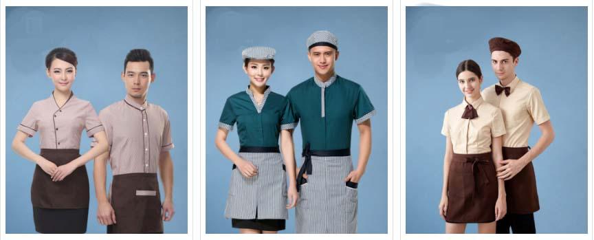 Mẫu đồng phục áo thun nhà hàng thanh lịch