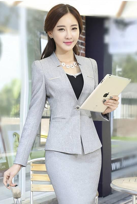 Mẫu áo vest đồng phục sang trọng