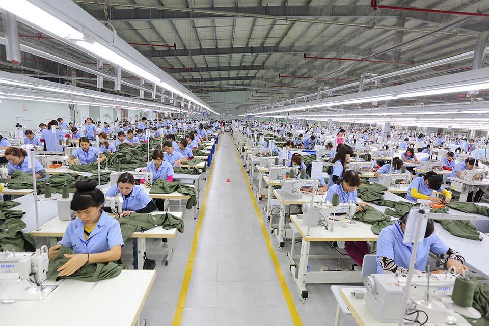 Xưởng sản xuất quy mô khép kín