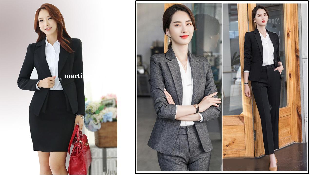 Mẫu đồng phục vest đẹp nhất cho nữ công sở