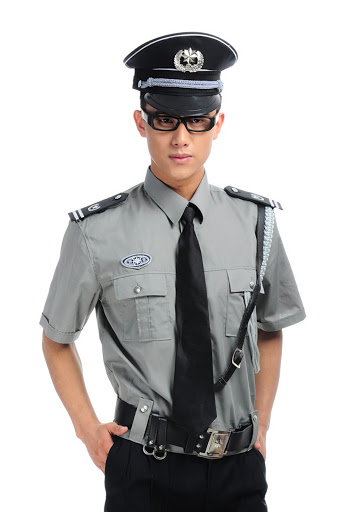 Mẫu đồng phục bảo vệ đẹp thiết kế hiện đại