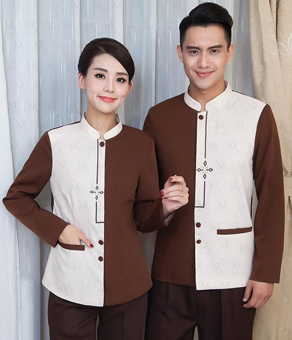 Mẫu đồng phục tạp vụ đa dạng trong lối thiết kế