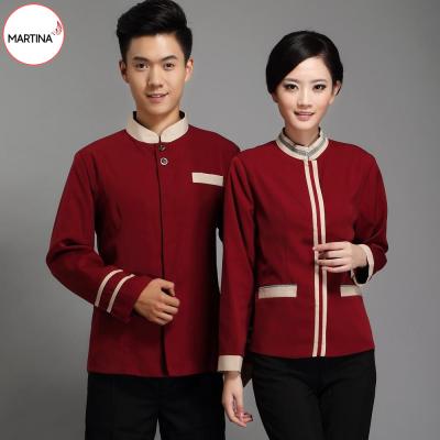 Mẫu đồng phục tạp vụ thiết kế thoải mái tiện dụng