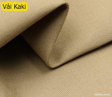 Mẫu vải kaki may đồng phục bền đẹp nhất
