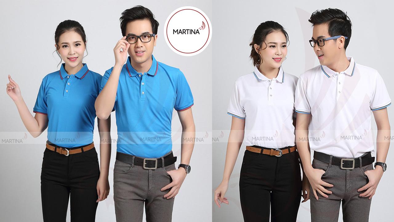 Hình ảnh áo phông đồng phục công ty tươi trẻ