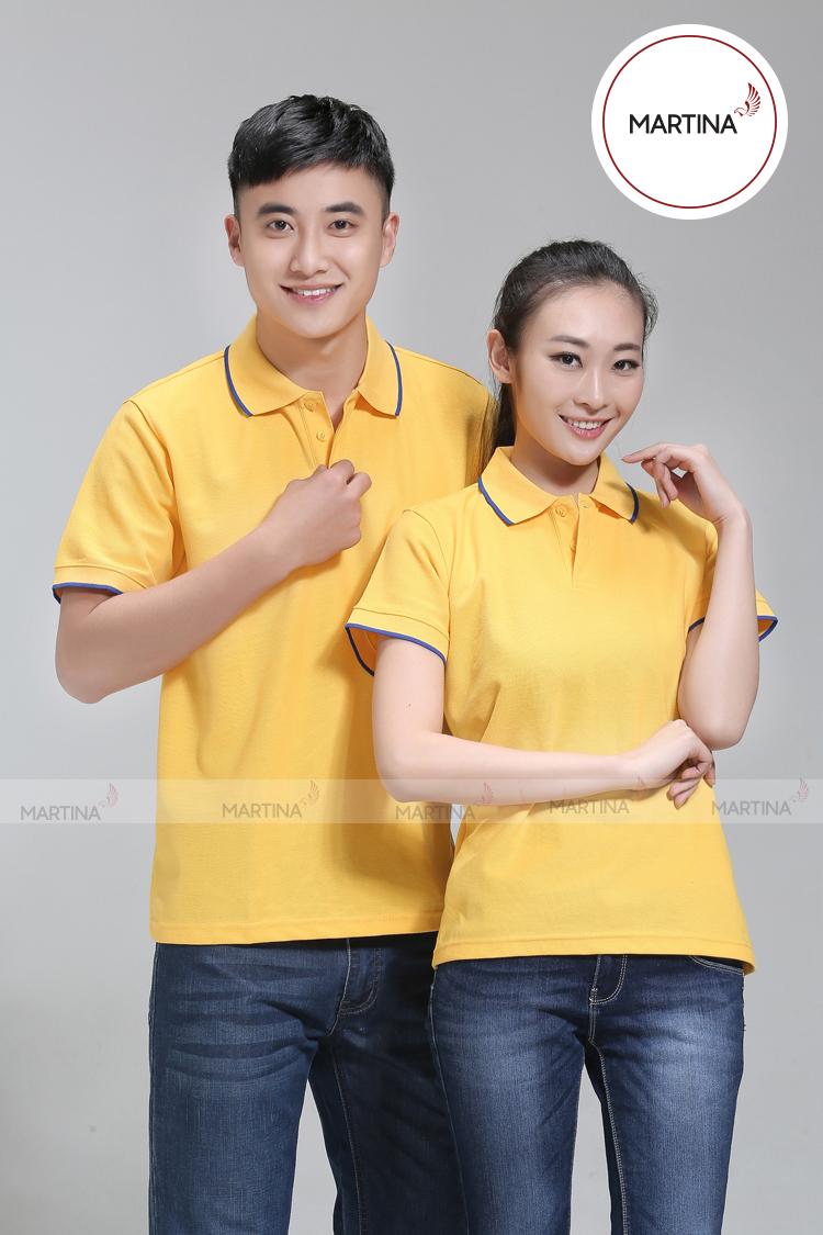 Mẫu áo gam màu vàng đẹp nhất