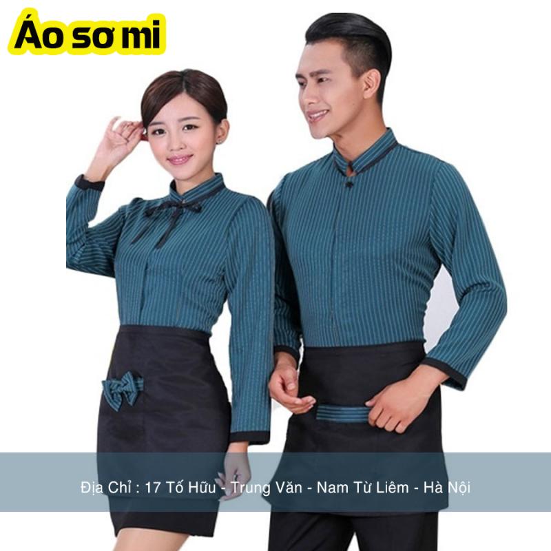 Mẫu đồng phục áo sơ mi nhân viên nhà hàng