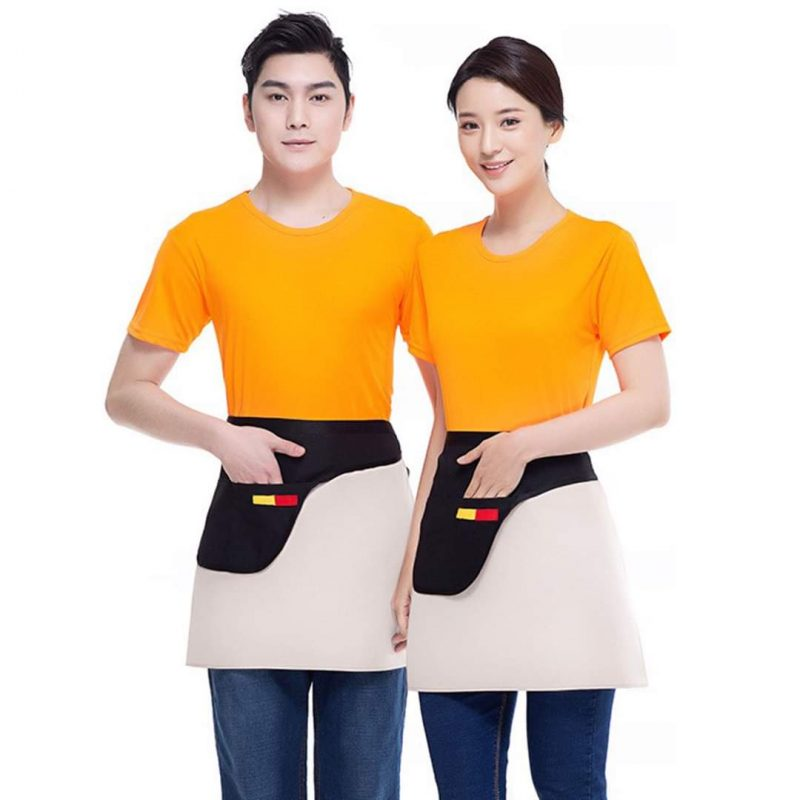 Mẫu áo phông nhân viên phục vụ