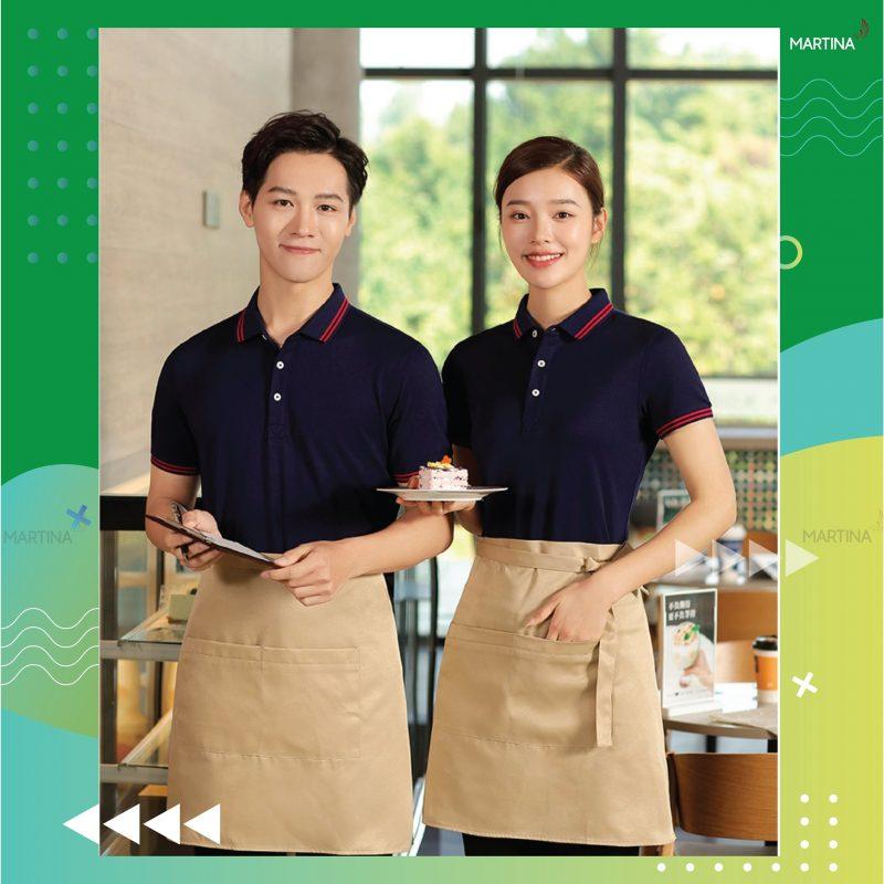 Hình ảnh mẫu áo thun dành cho nhà hàng thiết kế đẹp nhất